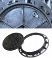 Custom Ductile Iron Manhole Covers