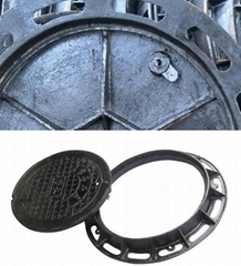 Custom Ductile Iron Manhole Covers