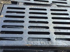 Custom Ductile Iron cast trench grate