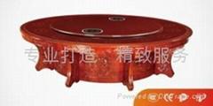 Z61(新款)圓形隱藏式分餐火鍋桌