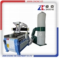 China small metal wood cnc router ZK-6090 600*900mm