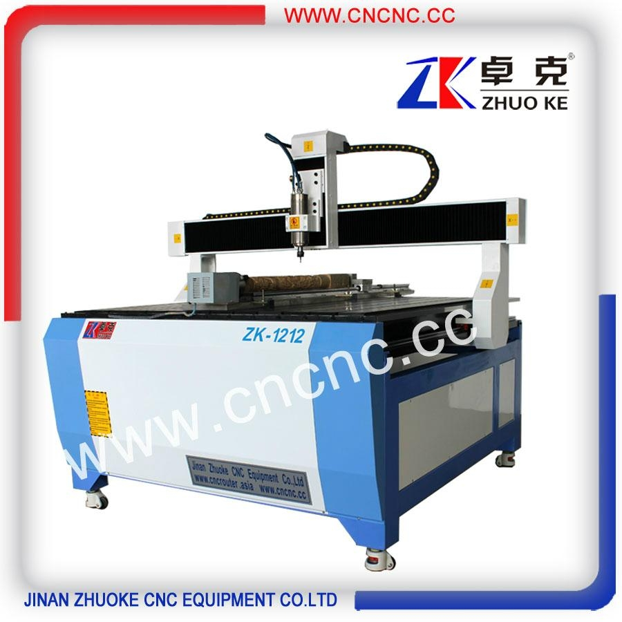 China hot sale cnc engraving machine for wood metal ZK-1212