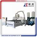 Big Size Woodworking CNC Router Machine Vacuum  ZKM-1325A-6.0KW 1300*2500mm