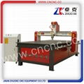 China Wood Carving Machine CNC Router With Vacuum and dust collector ZK-1325A