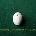Perforated alumina ball