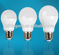 Made in Hikingwin low price plastic home illumination light led bulb light ,A50