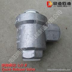 供應同石牌液壓氣動原件快排閥SE-1/2-B