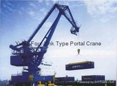 Four-Link Type Portal Crane