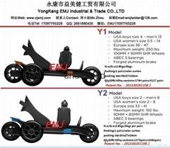EMJ SKATE 2015 Newest model quad roller skates for sale  Y1