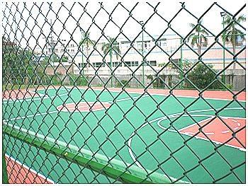武汉球场勾花网围栏 2