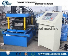 Metal Steel Structure C Channel Purlin Roll Forming Machine