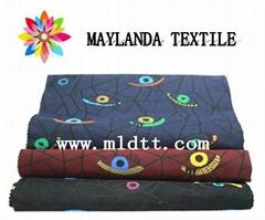 Maylanda textile 2016 factory for garments New style eye jacquard fabric