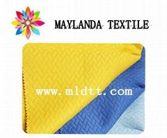 Maylanda textile 2016 factory for garments New style  jacquard fabric