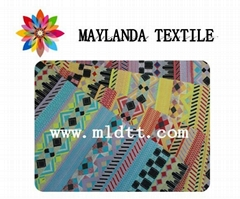 Maylanda textile 2016 factory for garments ,national flavor jacquard fabric