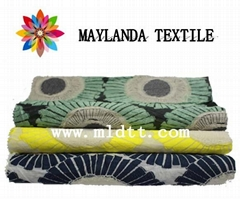 Maylanda textile 2016 factory for garments,carved  jacquard fabric