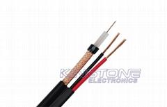 95% CCA Braid CCTV RG59/U Coaxial Cable