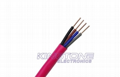 2.50mm2 Fire Rated Cable with Fire Resistance Low Smoke PVC in 200M Roll