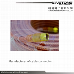RG6 Copper Conductor CATV Coaxial Cable