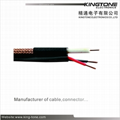 CCTV Coaxial Cable for Digital Video Composite Cable 24 × 0.20mm CCA Power