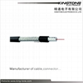 RG59 Coaxial Cable 75 Ohm RF Signal Transmission UL CMR  AL Braiding Cable