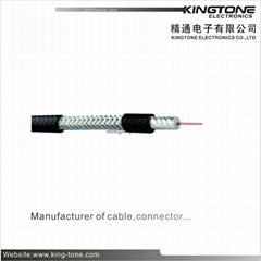 RG59 Coaxial Cable 75 Ohm RF Signal Transmission UL CMR  AL Braiding Cable