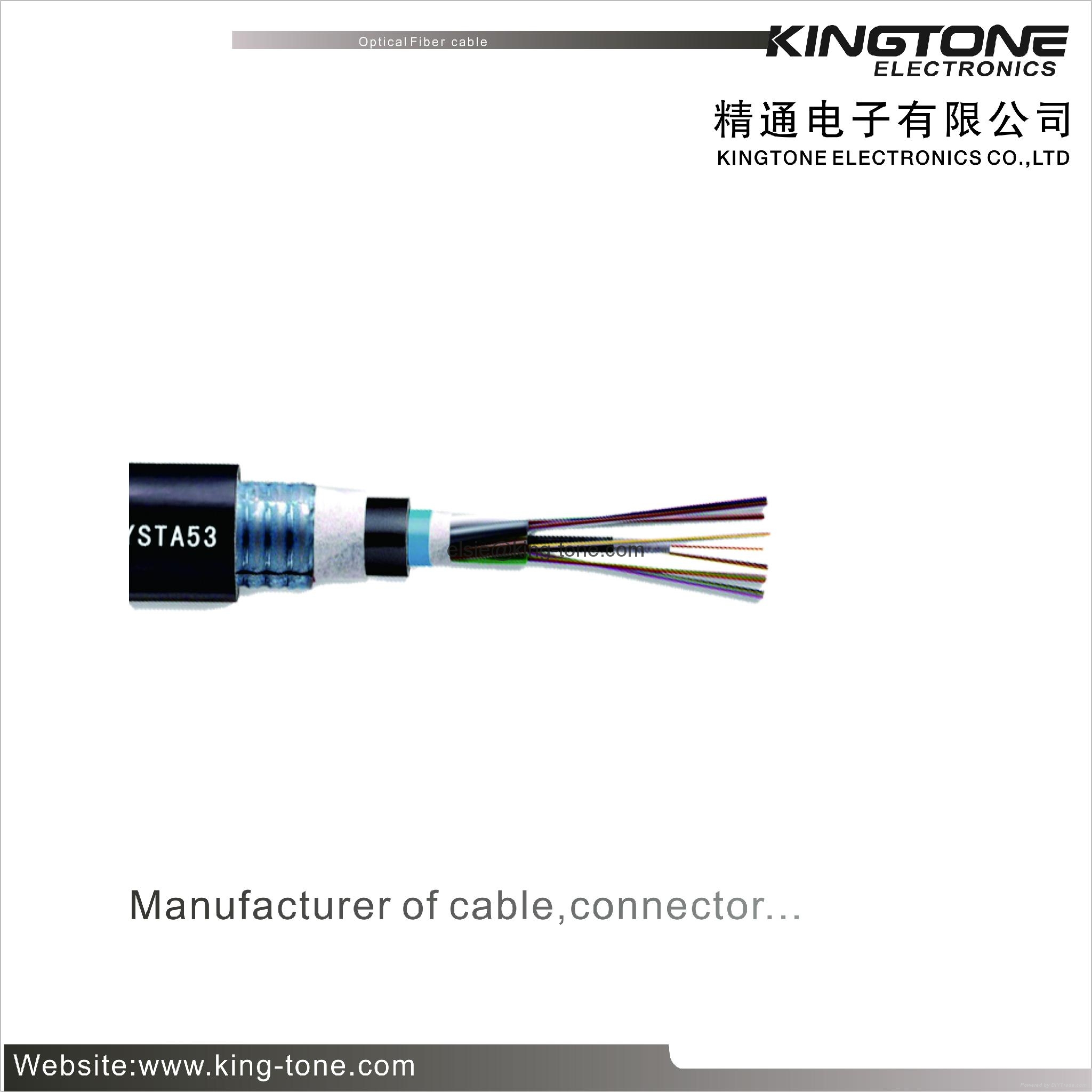 Outdoor Armored Cable Wiring : Gyta outdoor fiber optic cable layer stranded reinforced