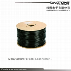 JET Outdoor Fiber Optic Cable  G.652D or G.657A 2~12 Core PE Jacket