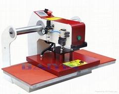 garment textile shirt Pneumatic heat press machine