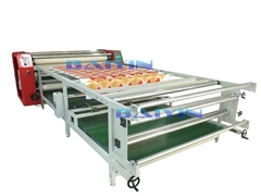 Roller heat press sublimation machine