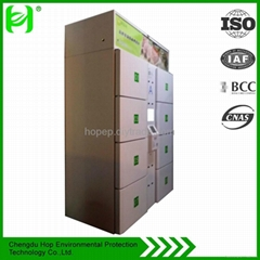 electronic stainless storage refrigerator cabinets for logistics