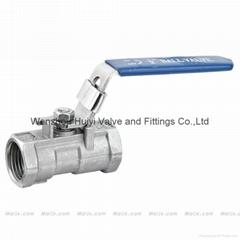 1-pc ball valve