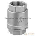 female thread vertical lift check valve
