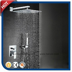 Concealed Inwall Shower Faucet with Shower Hand
