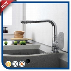 Popular Brass Single Handle Kitchen Faucet