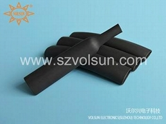 Black Viton Heat Shrink Tubing
