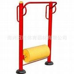 小区公园广场室外健身器材滚筒