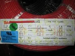 供应美标UL1015 18AWG镀锡电子线材  610米/卷