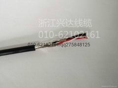 美标UL2835电子镀锡线4芯22AWG信号线
