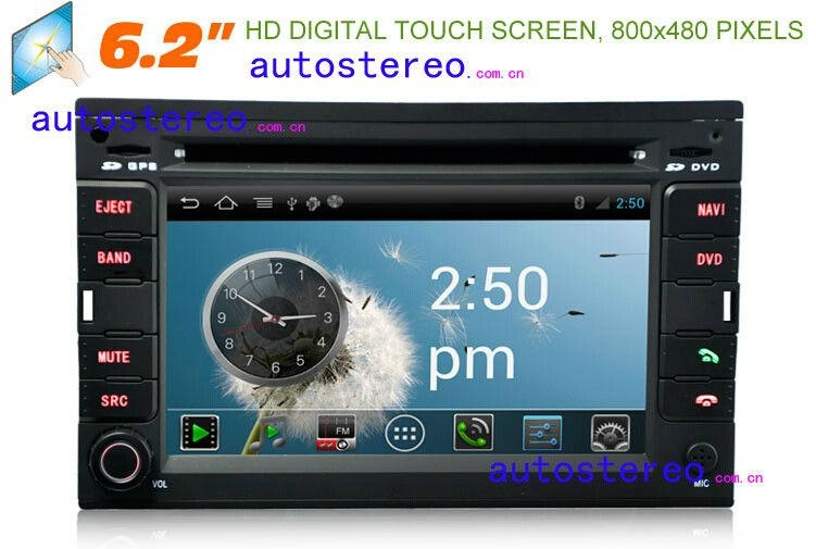 Android 4.0 Car Stereo Sat Nav GPS Navigation Headunit for VOLKSWAGEN 1