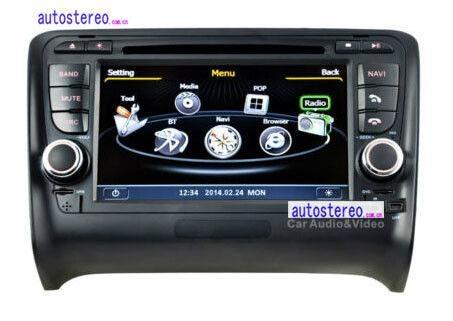 Multimedia DVD Car Stereo GPS Sat Nav Audi TT Autoradio GPS Navigation 1