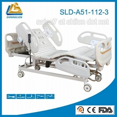 Five Function Center Control Electric Hospital Bed