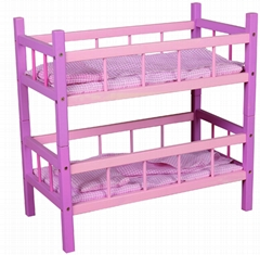wooden crib baby toy