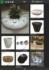 玻璃鋼現代創意花盆
