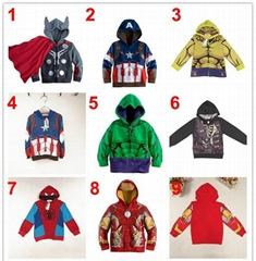 2015 Boys baby clothes for spider kid