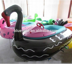 inflatable black swan an