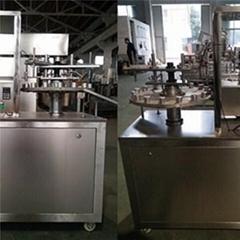 KPSG-1 Manual Adhesive Glue Filling and Capping Machine