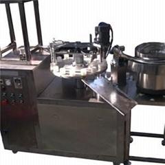 KPSG-2 Semi Automatic Adhesive Glue Filling Caping Machine