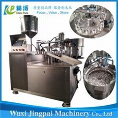 KPSG-3 Automatic Adhesive Glue Filling And Capping Machine