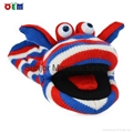 Creative design Knitted Hand Puppet for