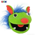 Hot Selling Knitted Hand Puppets for adult stripy finger hand puppet for sale 4